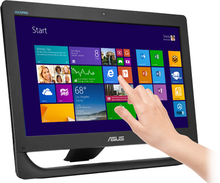 asus A4310_touch_hand