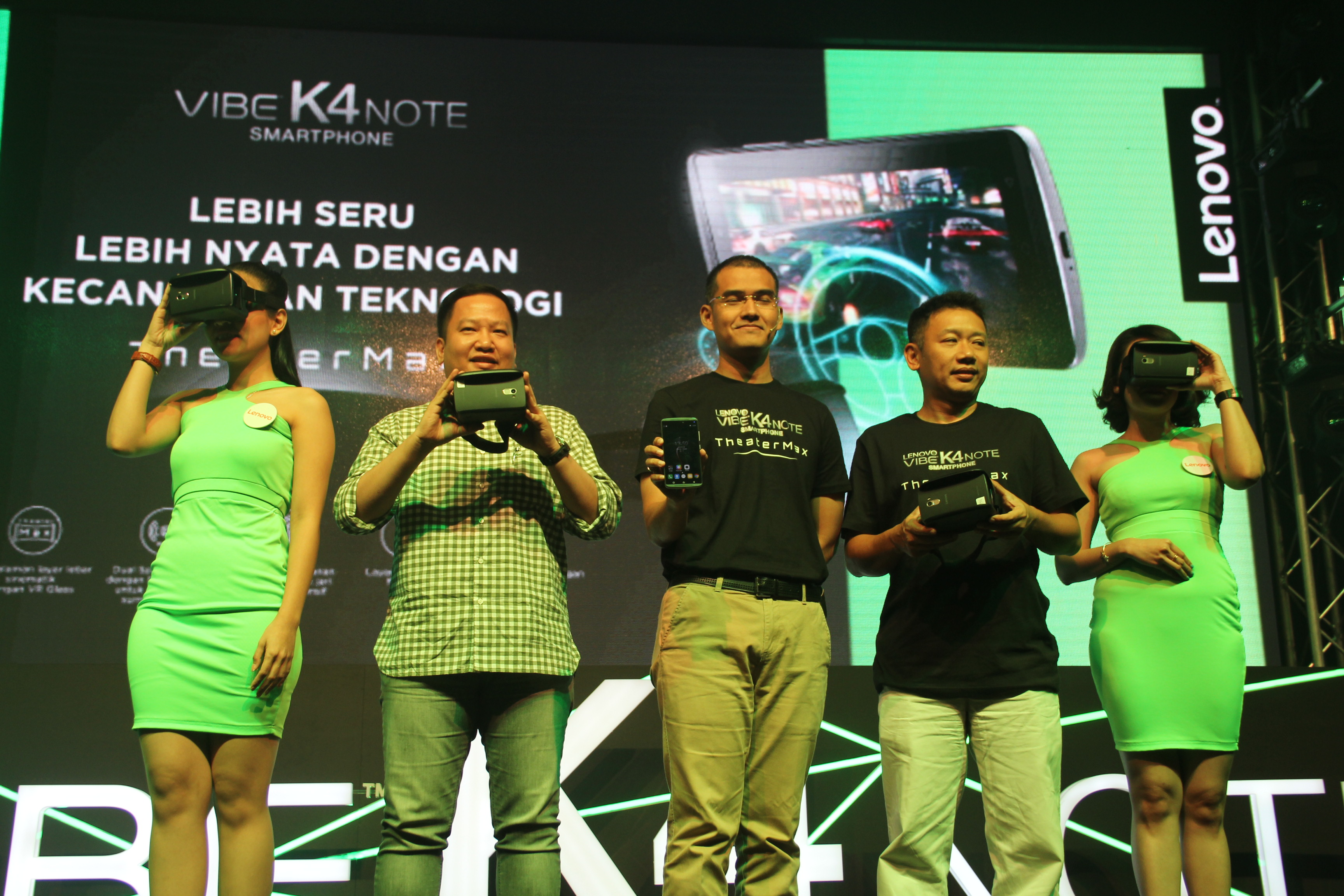Lenovo Indonesia Luncurkan VIBE K4 Note Gratis VR Glass Tips Gadget