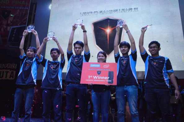 1-Kanaya Esport pemenang utama Lenovo Gaming League 2016